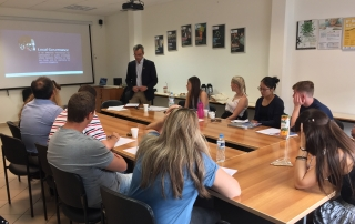 Presentation City College - Sheffield University